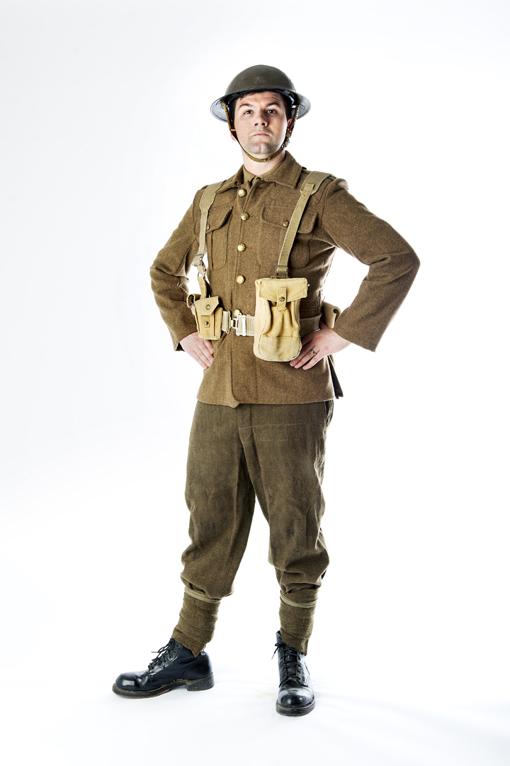 Picture of world war 1 soldier