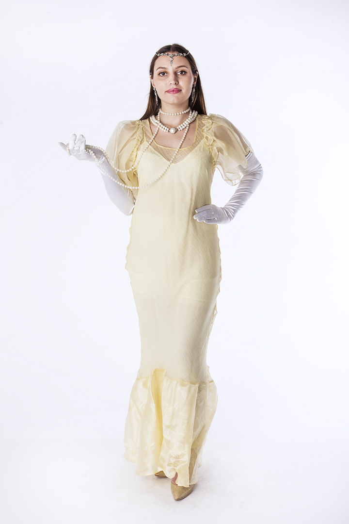 Formal Gown (Pearl), 1940\'s – Thunder Thighs Costumes Ltd.
