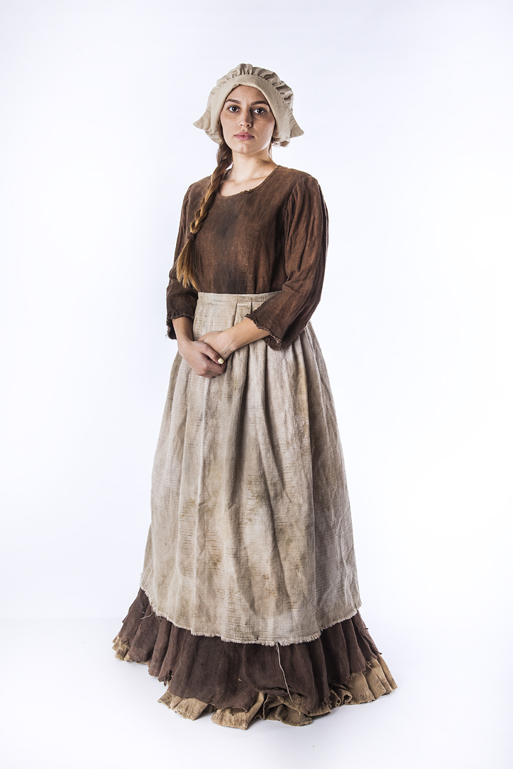 Peasant Female, 1700's – Thunder Thighs Costumes Ltd.